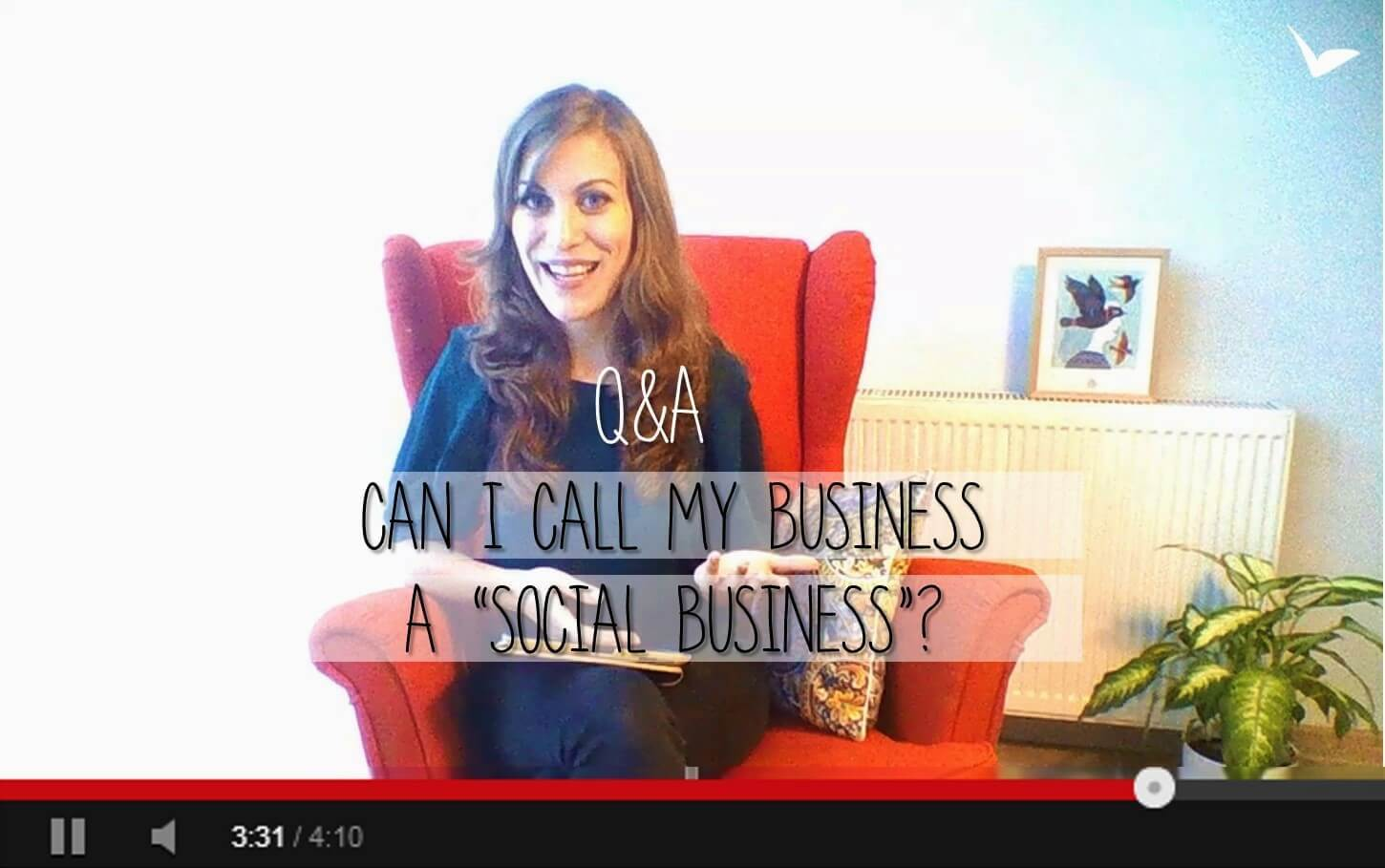 """Q&A : Can you call your company a """"Social Business"""" ?"""