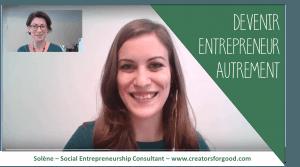 Devenir entrepreneur autrement - mon retour d'expérience