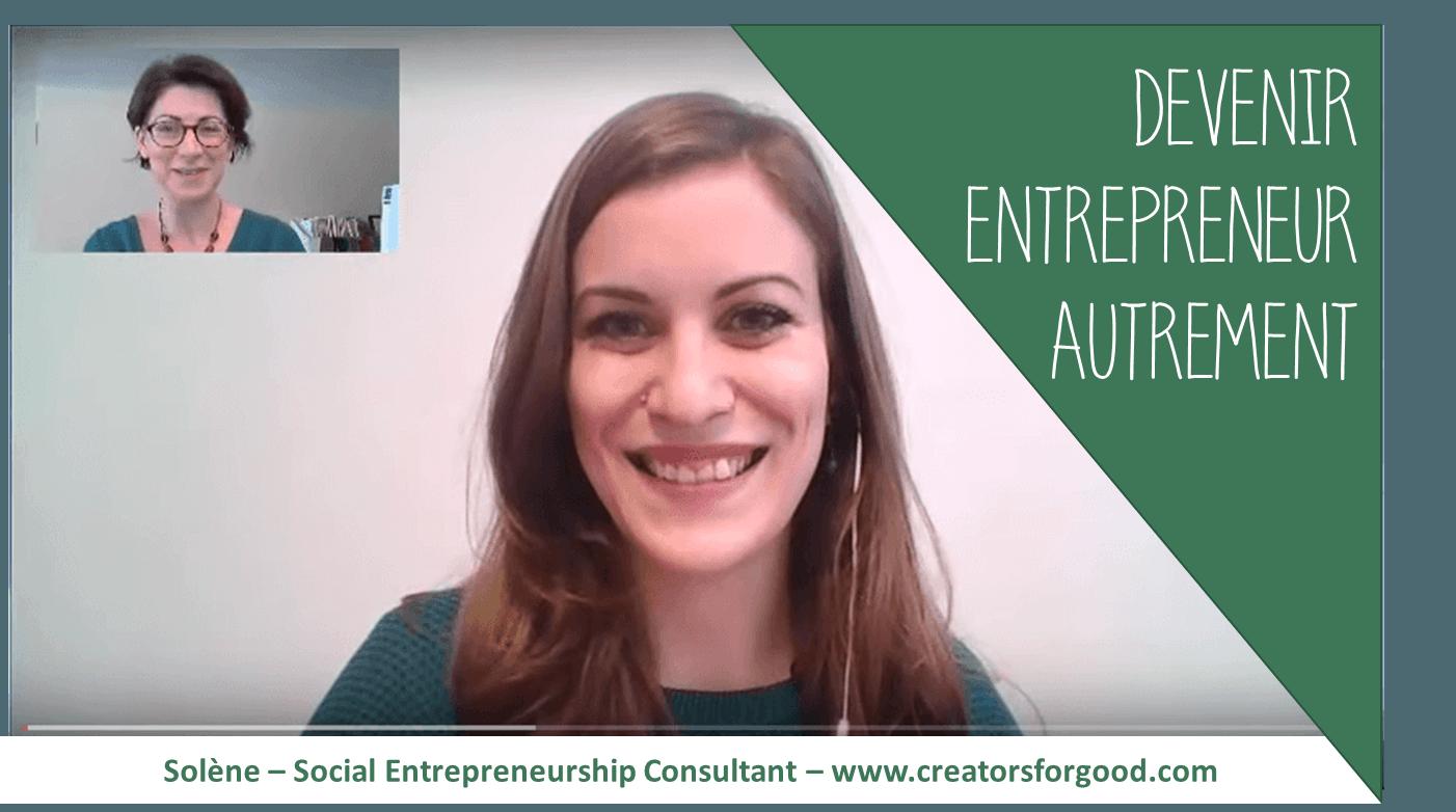 Devenir entrepreneur autrement : mon retour d'expérience