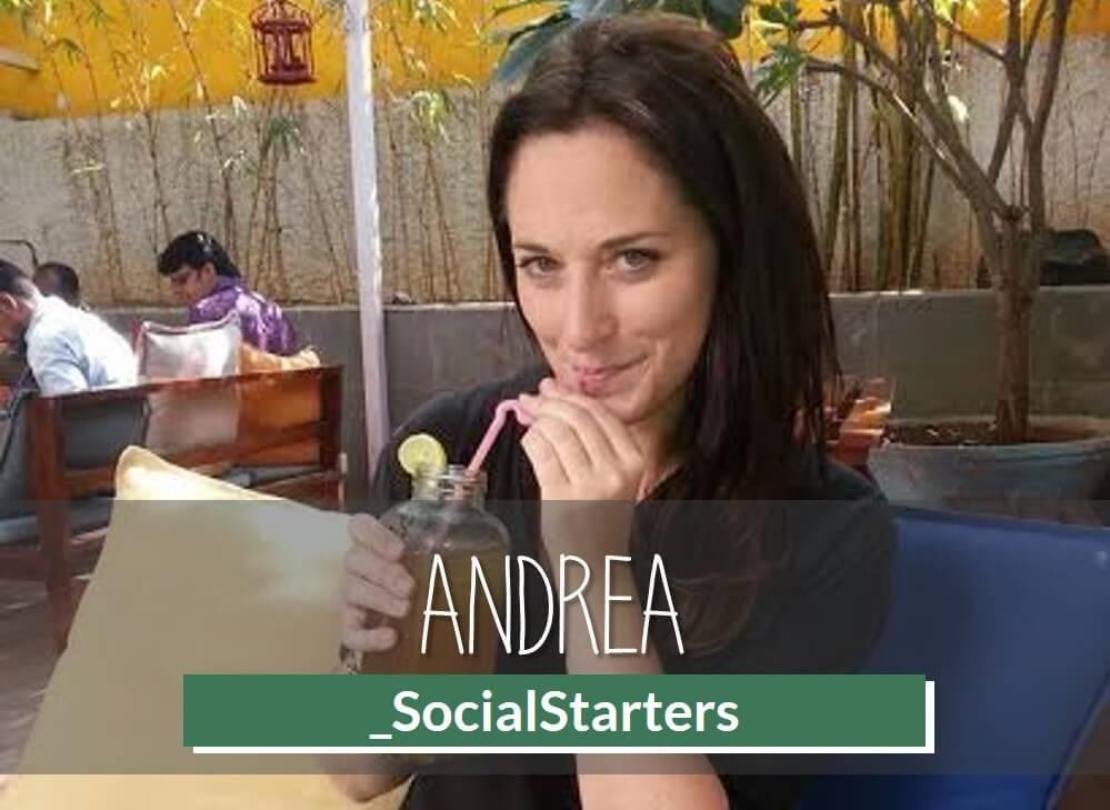 Successfull Social Entrepreneur - Andrea - Social Starters