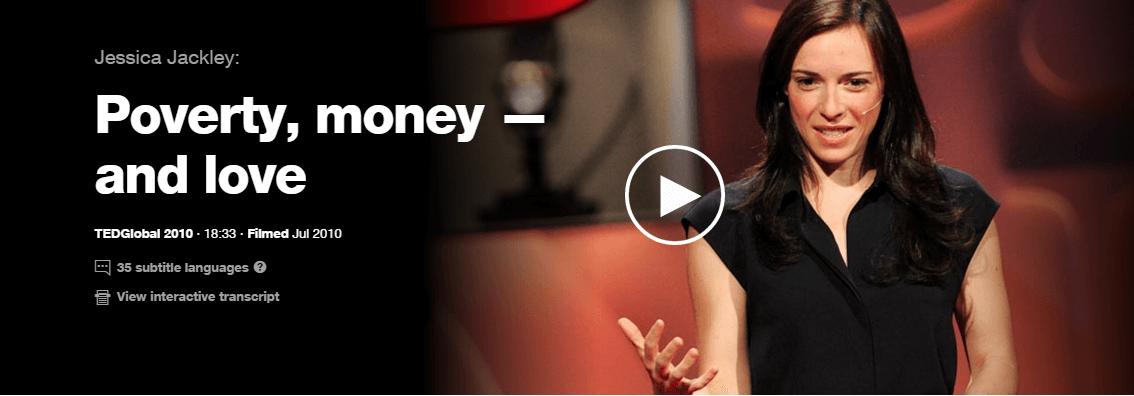 TED Talks for Social Entrepreneurs - jessica -creators for good