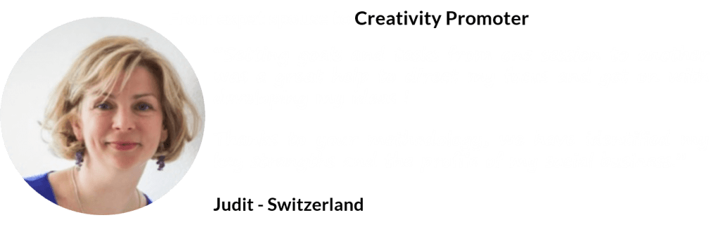 from expat to creativity promoter - Judit