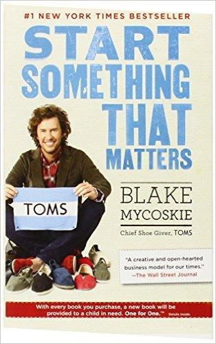 Cover book Start Something That Matters