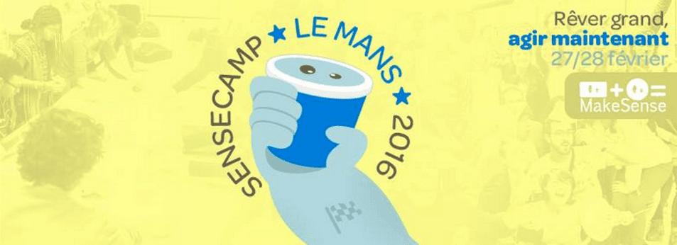 Logo SenseCamp Le Mans 2016