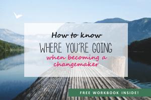 Becoming a changemaker