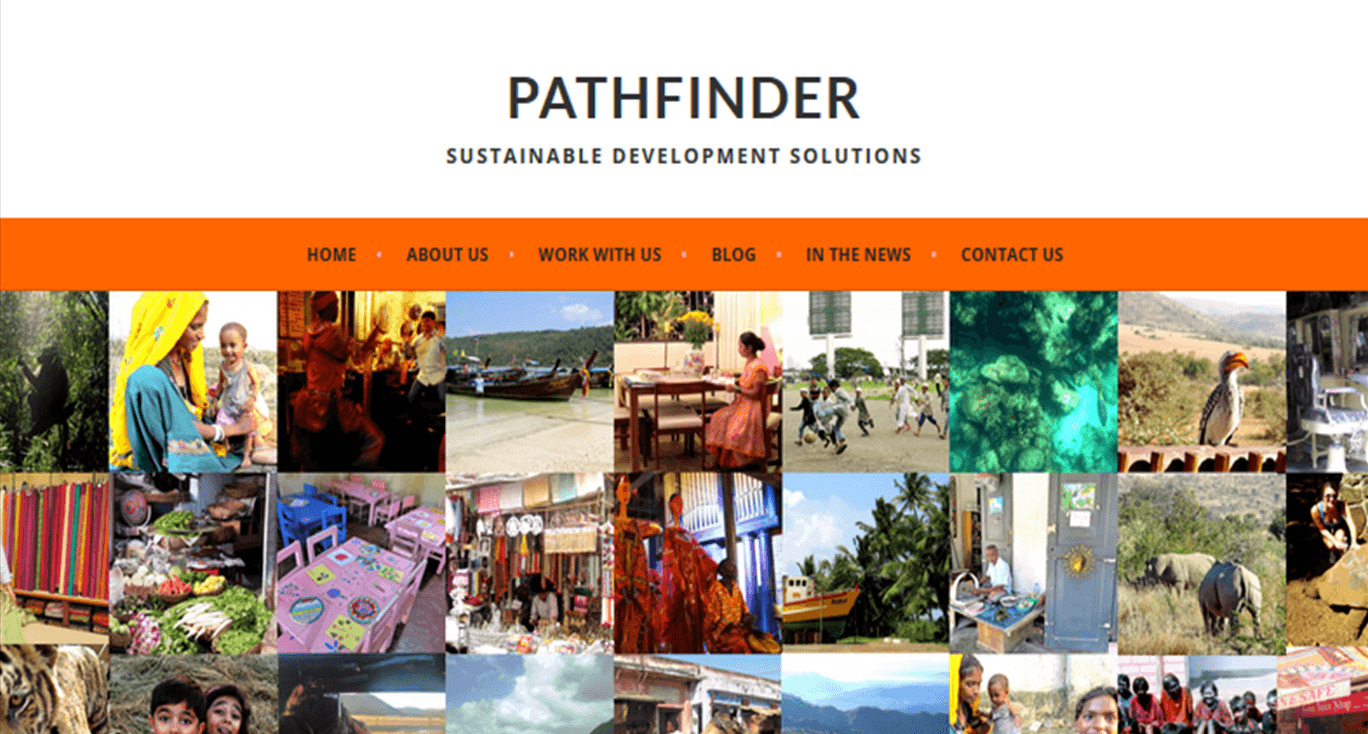 Pathfinder homepage