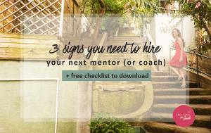 mentor entrepreneur