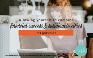 financial success and sustainable ethics - Creators for Good