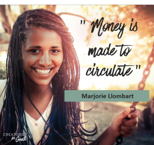 financial success and sustainable ethics - quote 1 - Creators for Good
