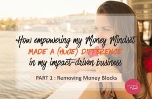 money mindset - part 1 - Creators for Good