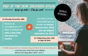 bonus ritual group session