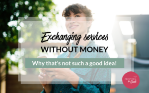 Exchanging services without money