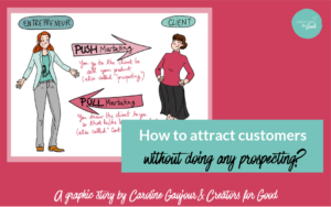 attract customers without prospecting