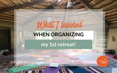 What I learned when organizing my 1st entrepreneurial retreat