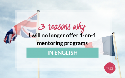3 reasons why I will no longer offer 1-on-1 mentoring programs in English