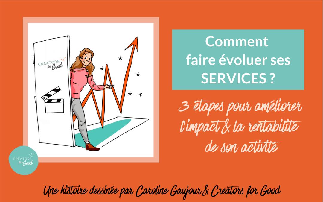 Comment faire évoluer ses services ? 3 étapes pour améliorer l'impact & la rentabilité de son activité